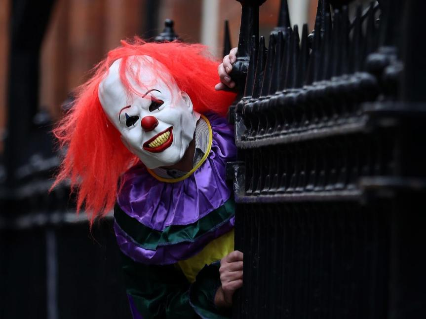 Coulrophobia: the scary clown craze
